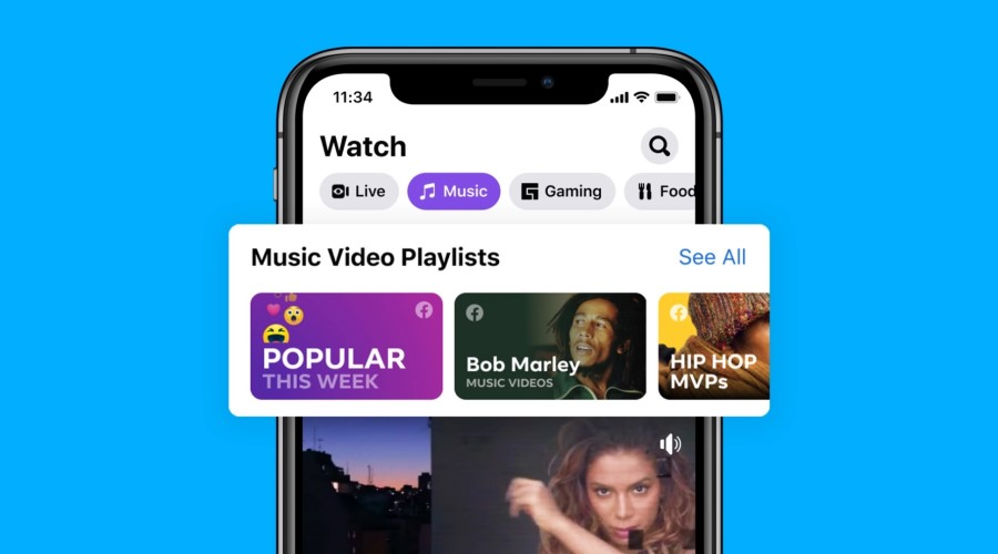 Facebook is now a Music Video Hub post thumbnail