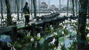 These Gorgeous 'Ghost of Tsushima' Concept Art Prints are Up for Sale