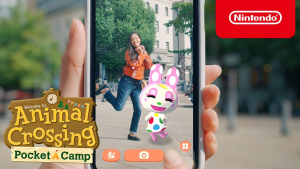 New AR Mode Brings 'Animal Crossing: Pocket Camp' Characters to the Real World