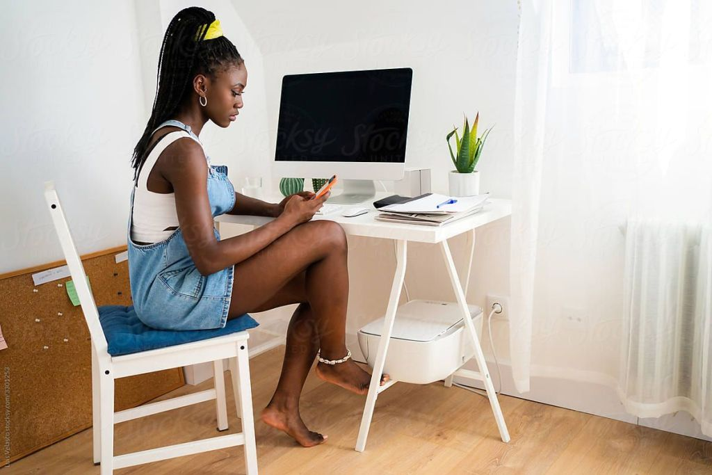 black work from home