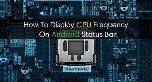 How To Display CPU Frequency In The Status Bar | CPU Monitoring Apps