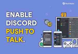 How To Enable and Activate Discord Push To Talk (Working Guide)