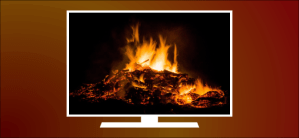 How to Turn Your TV Into a Virtual Fireplace