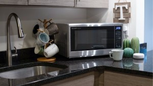 Sharp Debuts an Alexa-Compatible Microwave You Can Voice Control