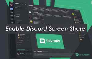 How To Screen Share in Discord Server Working 2021