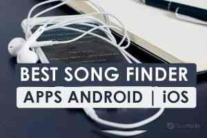 Top 5 Best Song/Music Finder Apps 2021: Apps to Identify Songs