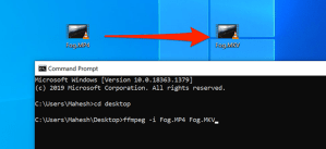 How to Convert Media Files Using the Command Prompt on Windows 10
