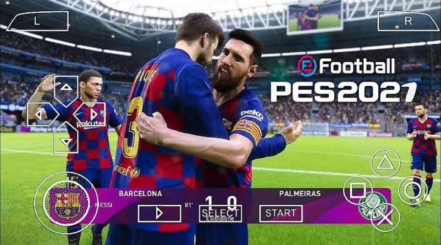 Download PES Lite 2021 for PPSSPP (Iso + Save Data + Textures Files) post thumbnail