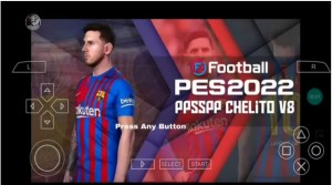 Download PES 22 PPSSPP for Android | PES 2022 ISO