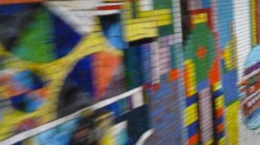 mur de métro londres