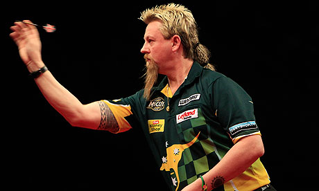 Simon Whitlock Professional Darts Player