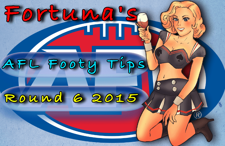 Fortuna's AFL Round 6 Footy Tips