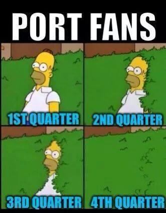 Port Adelaide Fans suck