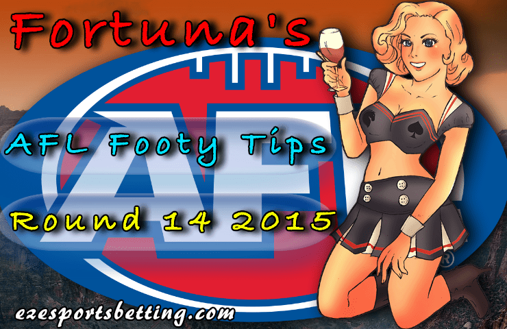 Fortuna round 14 afl footy tips