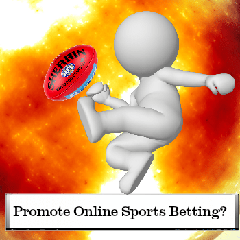 promote online sports betting