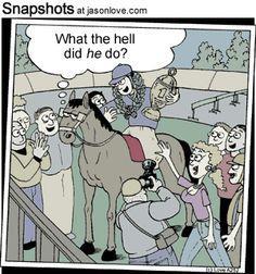 jockey joke