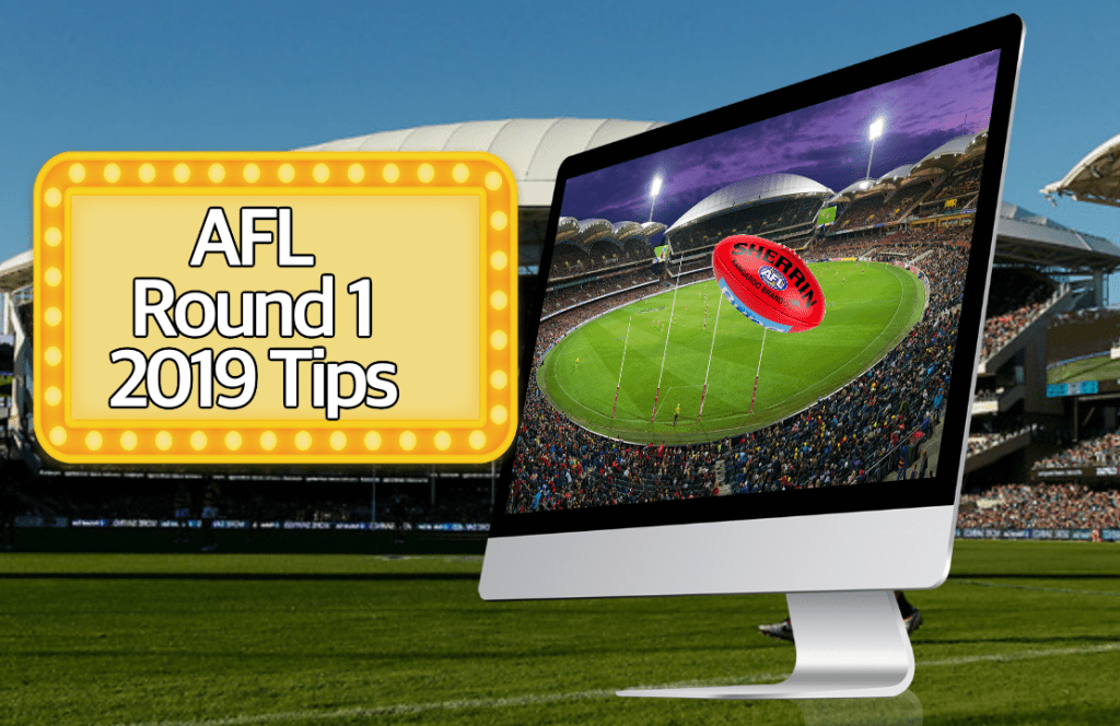 AFL round 1 2019 tips