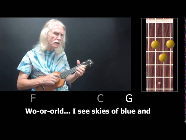 Over The Rainbowwhat A Wonderful World How To Play Clawhammer Uke