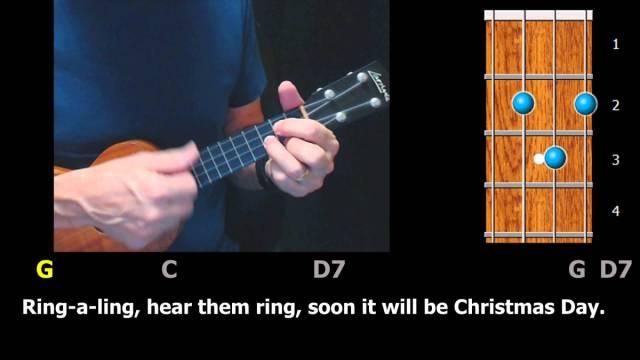 Silver Bells – Christmas Ukulele Strum-Along – ezFolk.com
