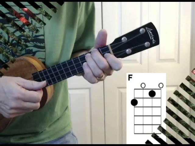 The Chipmunk Song Ez Ukulele Strum Along With Chords Ezfolk