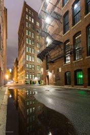 Regen in der Nacht, Boston