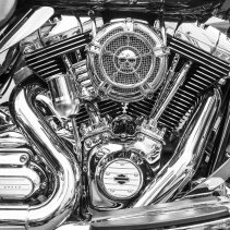 Chrome, Harley-Davidson