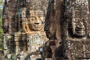 Tempel in Ankor Wat, Kambodscha
