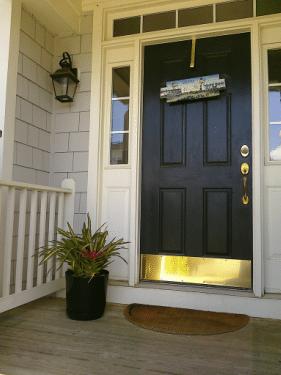 pre-hung exterior door