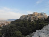 The Acropolis from the Areopagus Hill.