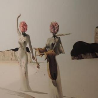Dali Painting Girls
