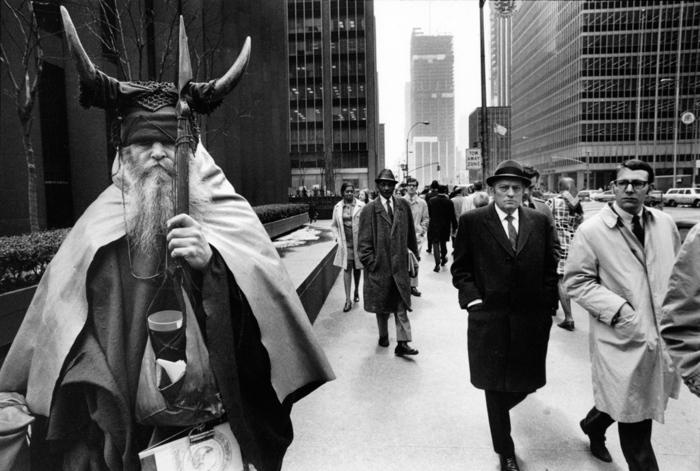 Moondog in NYC street