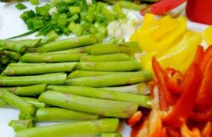 Asparagus & Vegetables
