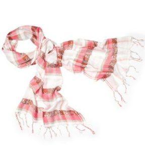 pink  loft scarf