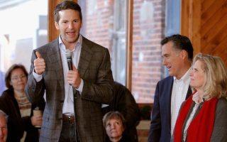 Mitt Romney Campaigns Throughout Iowa