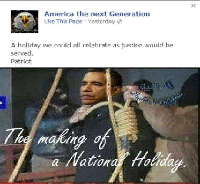 obama lynching