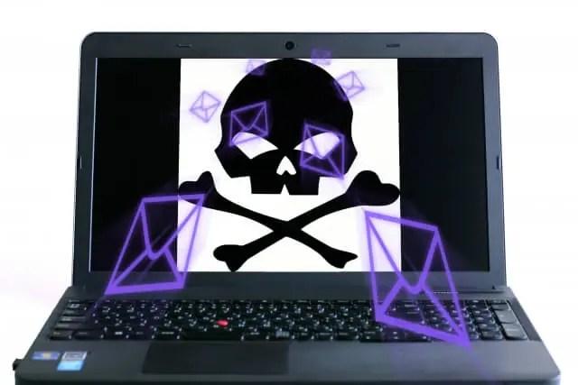 パソコンウィルス画像