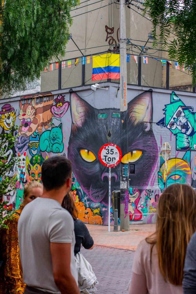 Bogota Backpacking: Street Art, Traffic & More