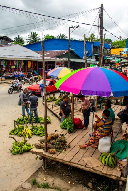 Leticia, Colombia Market