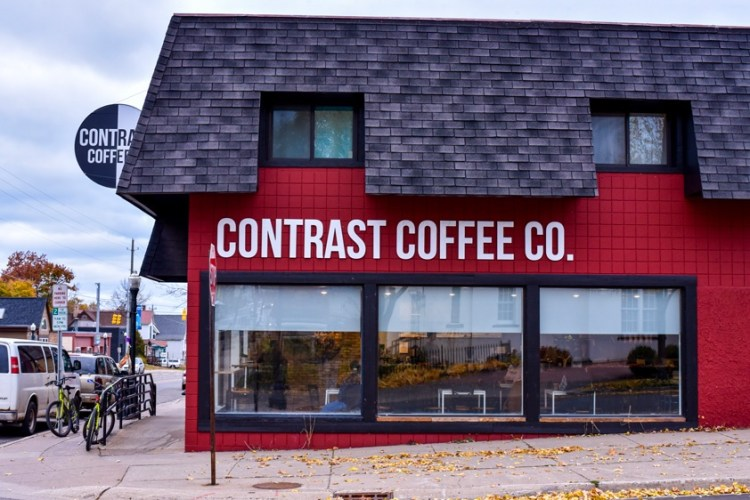 contrast coffee