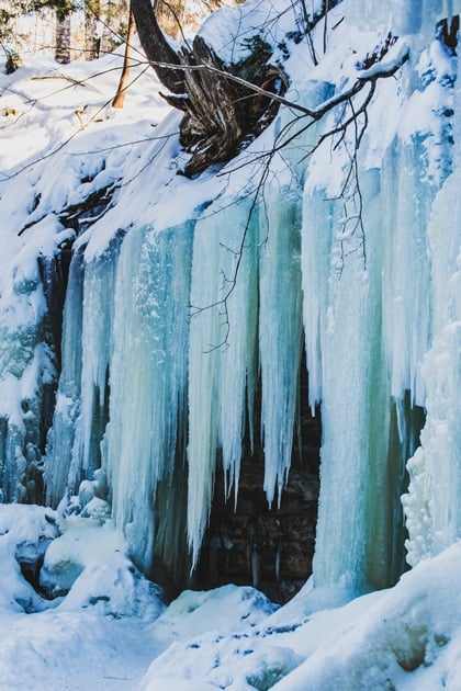 Eben Ice Caves: The UP's Must Visit Winter destination