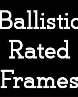Ballistic / Tactical Safety Eyeglasses