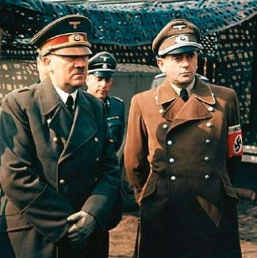 Adolf Hitler - Politiker, NSDAP, D mit Wilhelm Keitel und Albert Speer in der Wolfsschanze