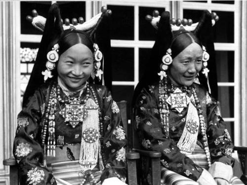 Tibetexpedition, Frau Bhondong Se, Frau Ringang