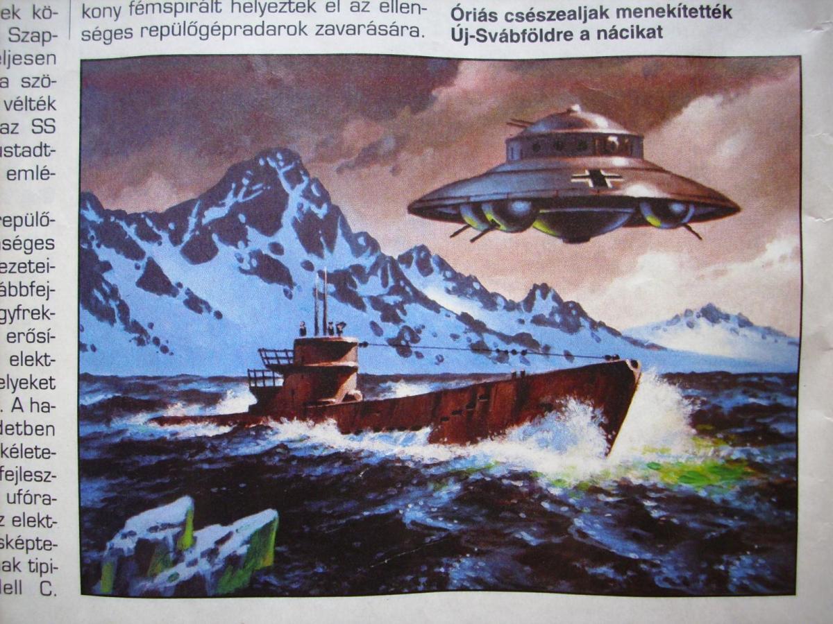 Миф 1947 года Антарктида