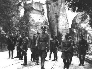 Осмотр достопримечательностей нацистами