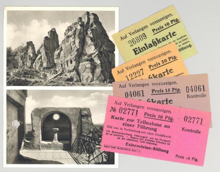 Билеты в комплекс Экстернштайн