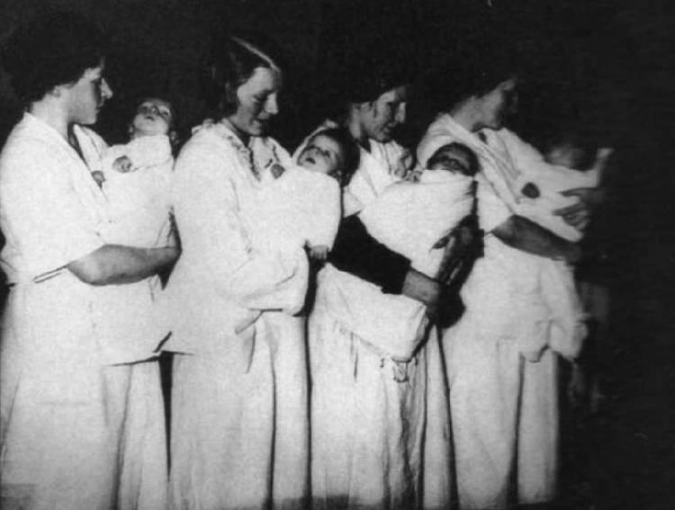 Дети нацисткой программы Лебенсборн