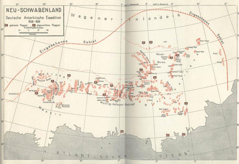Новая швабия на картах