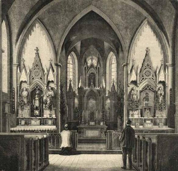 Костел святого Роха легенды