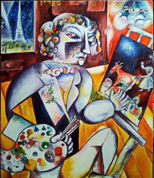 символы в картинах художников Марк Шагал